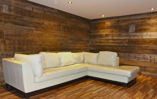 Habillage Mural Bois Ancien : Reclaimed Wood Wall