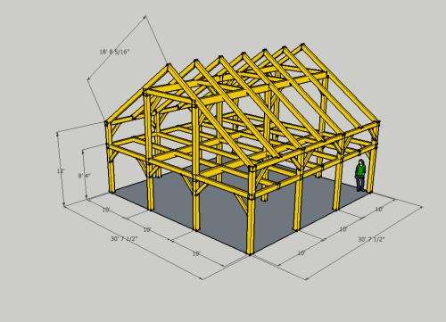 lineaire design com plans de charpentes. Black Bedroom Furniture Sets. Home Design Ideas