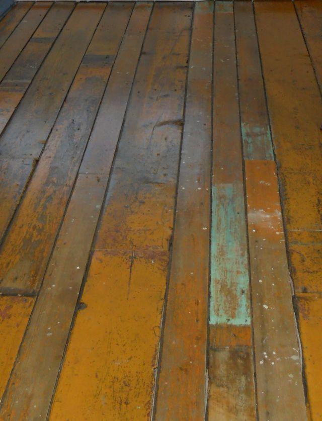 Plancher ancien avant 1900 , recomposé